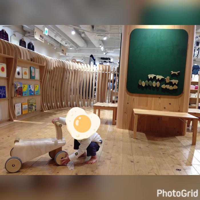 無印良品 木育広場 西武渋谷店