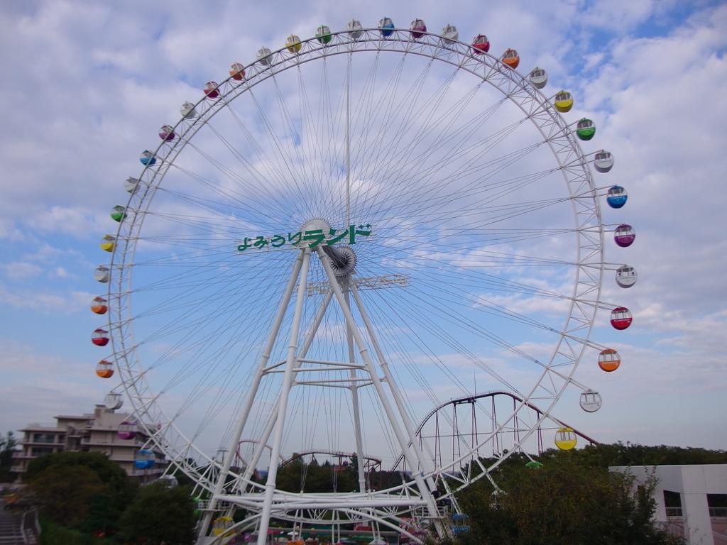 大観覧車では160mの高さからの絶景を楽しめます