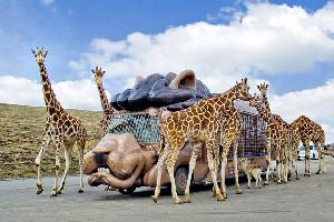 九州自然動物公園 アフリカンサファリ(大分県)