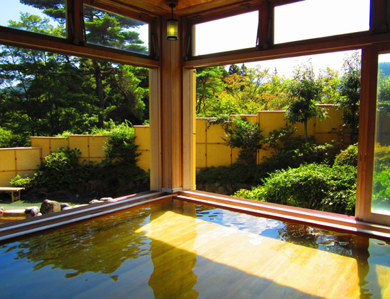 森の湯(男女別の温泉) 写真2