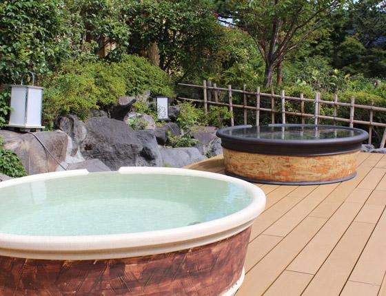 森の湯(男女別の温泉) 写真4