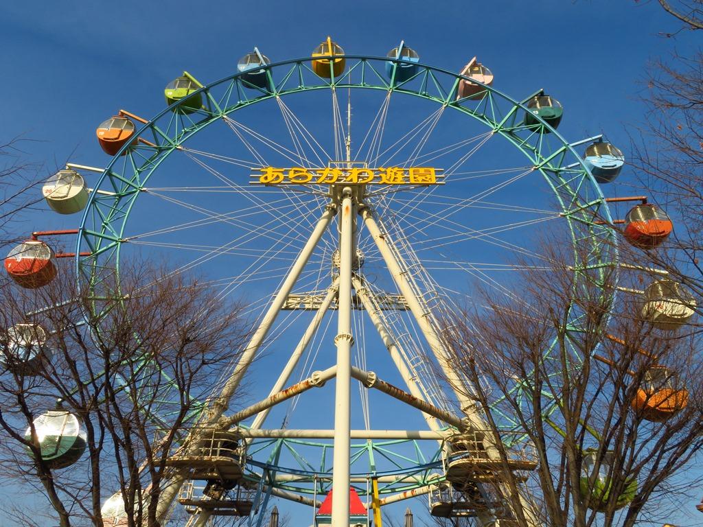 シンボルの観覧車☆高さは32mで富士山も見えるかも?!
