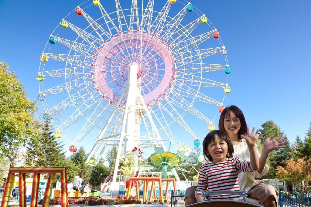 冬の軽井沢おもちゃ王国で雪遊びをしよう!家族でチュービング!