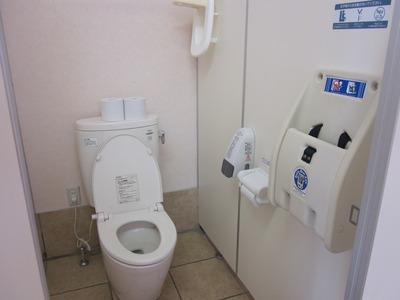 キレイなトイレでママも安心☆