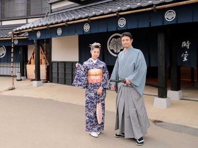 侍、姫様、忍者・・・江戸人に変身して村を散策できる、ここだけの特別体験