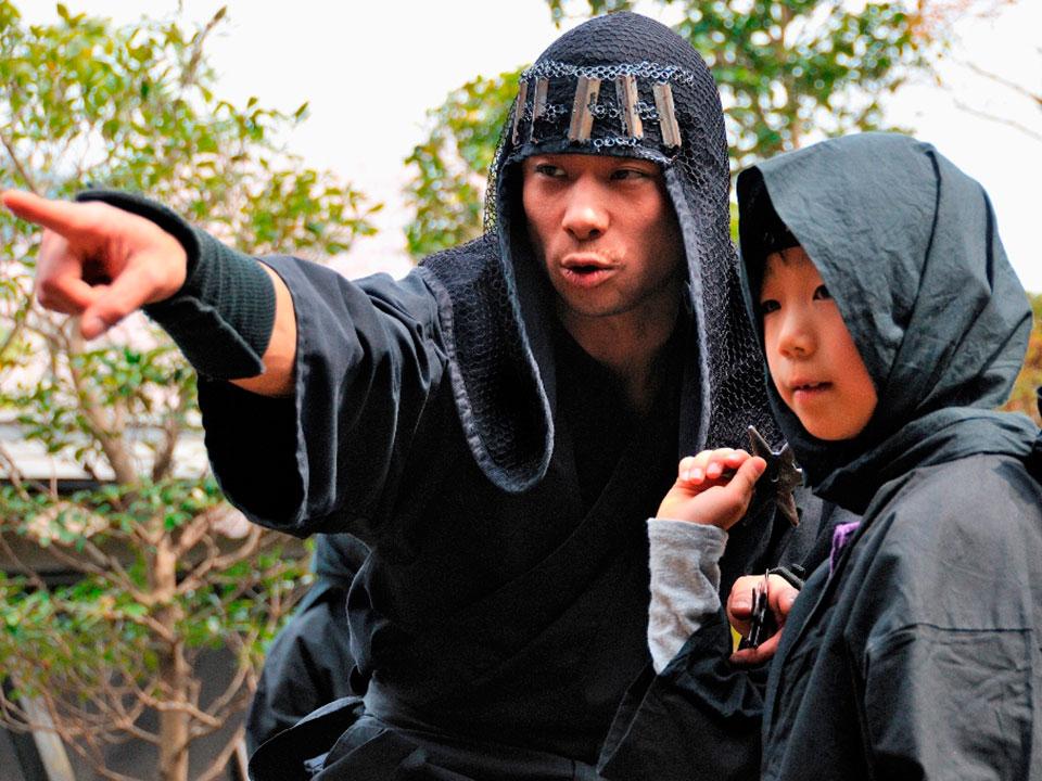忍者になってドロン!? 江戸人の職業を体験できる