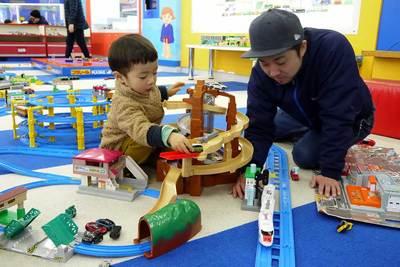 9館ある「おもちゃのお部屋」は子どもの好奇心をくすぐる夢の空間★