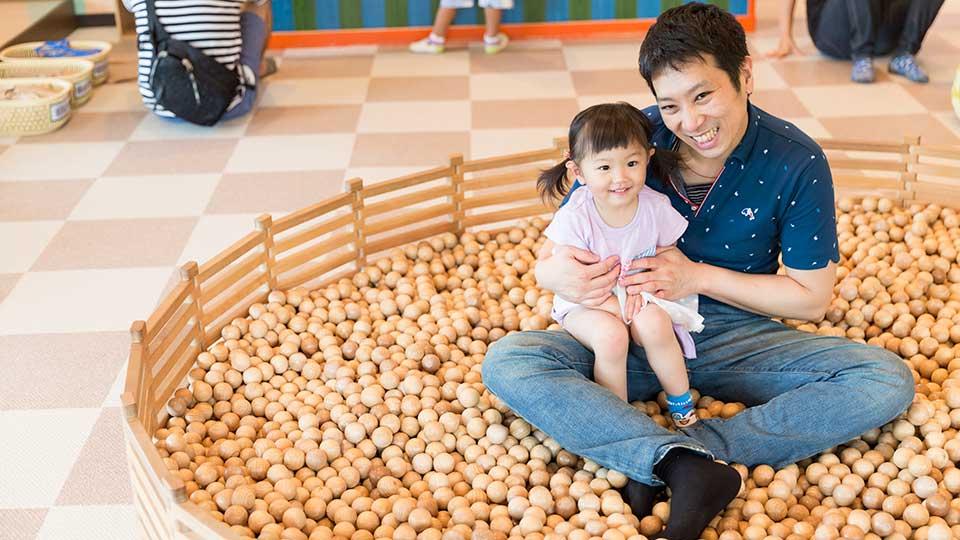 東条湖おもちゃ王国 木のおもちゃ館