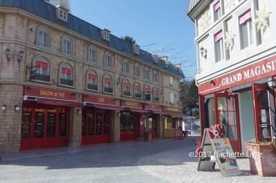 【リサとガスパールタウン】ヨーロッパ風のオシャレな町並みで、お散歩しながらゆっくりできるのも魅力☆