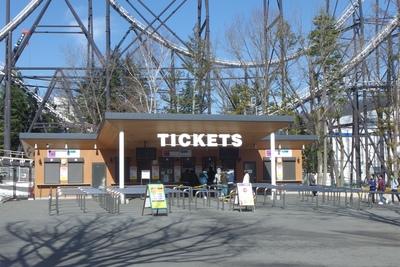 第一入園口のチケットカウンター