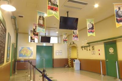授乳室はトーマスランド内をはじめとし全4箇所あります。
