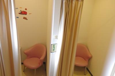 授乳室は園内4箇所。調乳器(70℃)完備。