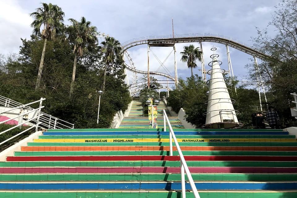 ブラジリアンパーク鷲羽山ハイランドへのアクセス