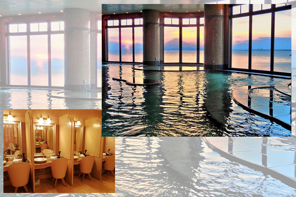 江の島の地下1,500mから湧き出す天然温泉