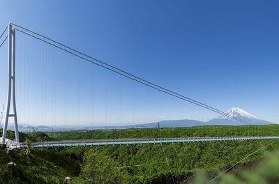 全長400m!スリルいっぱい日本一の長さの歩行者専用吊橋