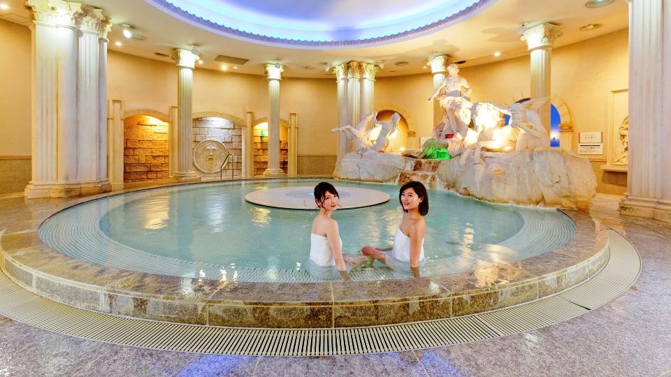 スパワールド世界の大温泉 ローマ風呂