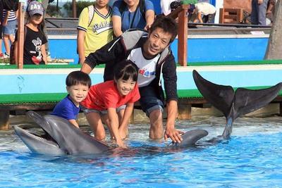 【ビーチランド】ふれあいがいっぱい、ドキドキの水族館