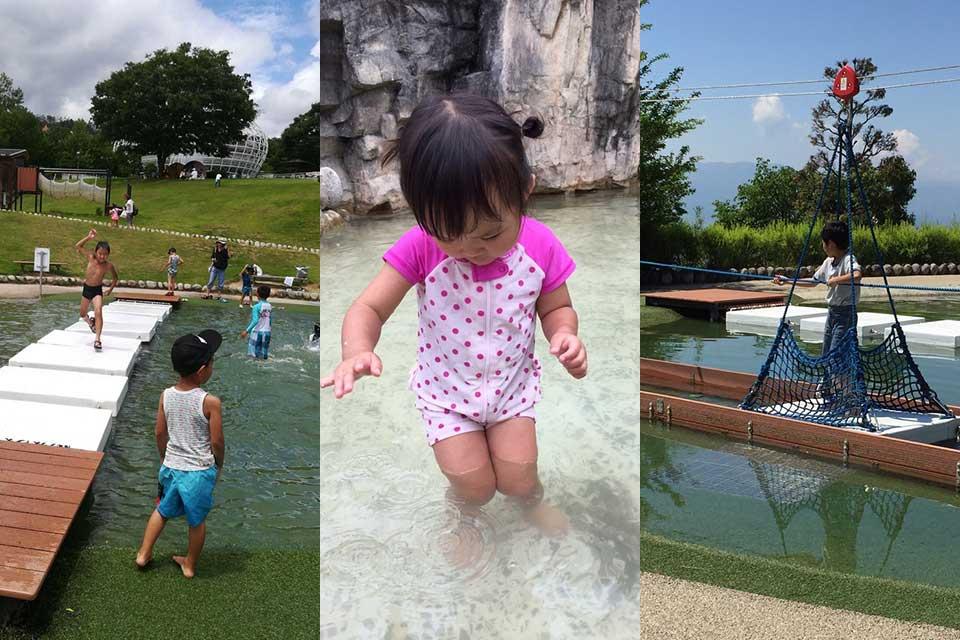 これで無料とは驚き!充実の水遊びエリア