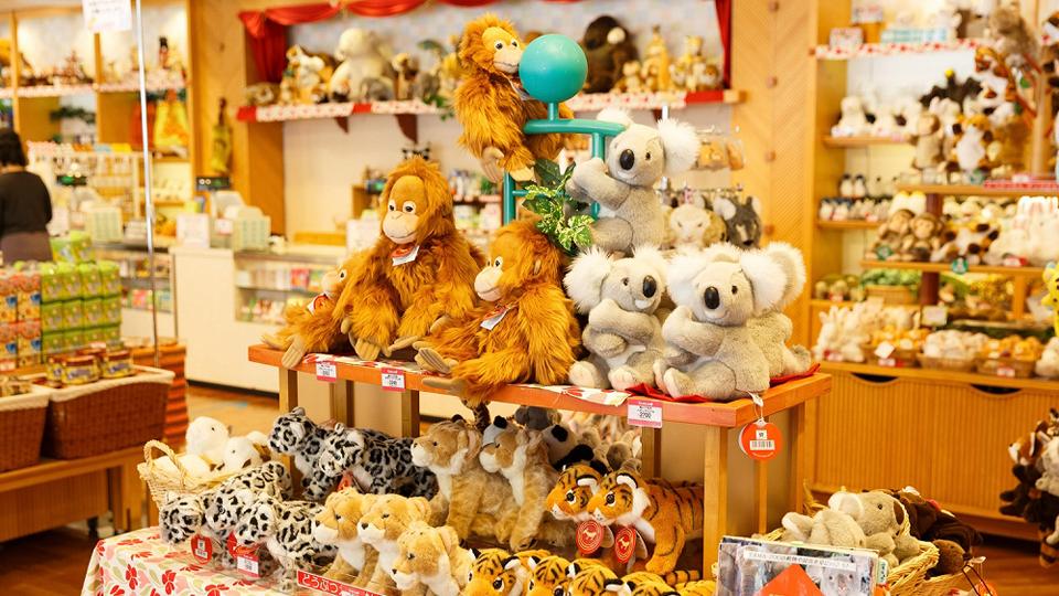多摩動物公園のおみやげはかわいい動物グッズがいっぱい