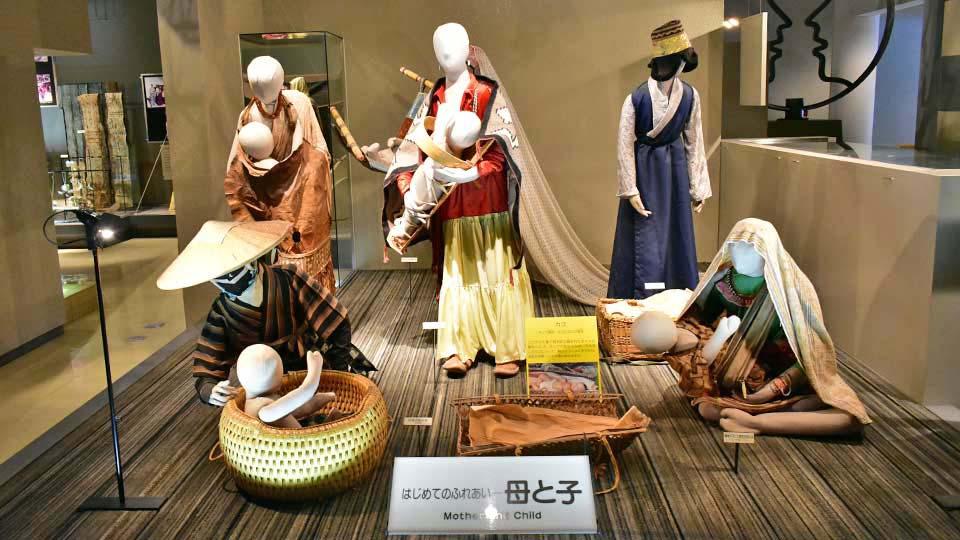 野外民族博物館リトルワールド 雨の日は屋内展示