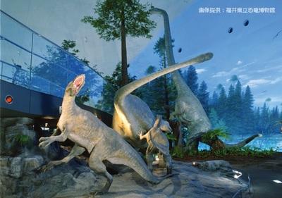 恐竜の世界を精巧に再現