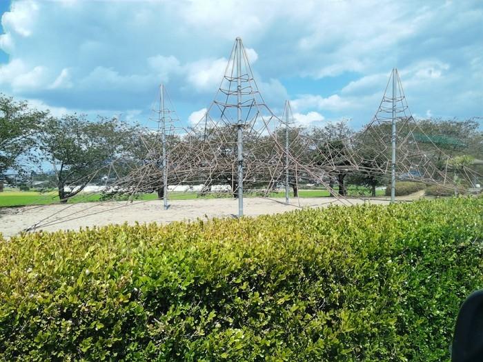 三豊市山本町河川敷運動公園