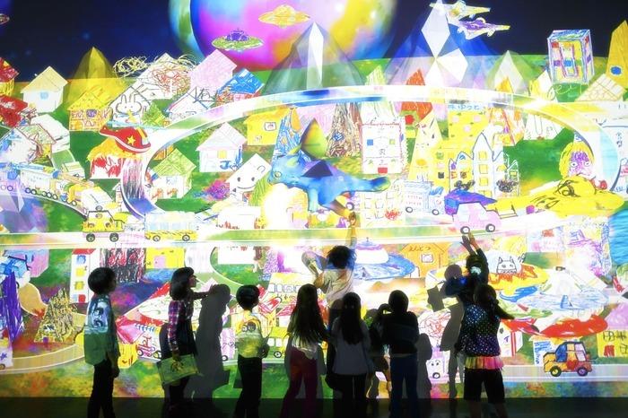 チームラボ 学ぶ!未来の遊園地 ららぽーと富士見店