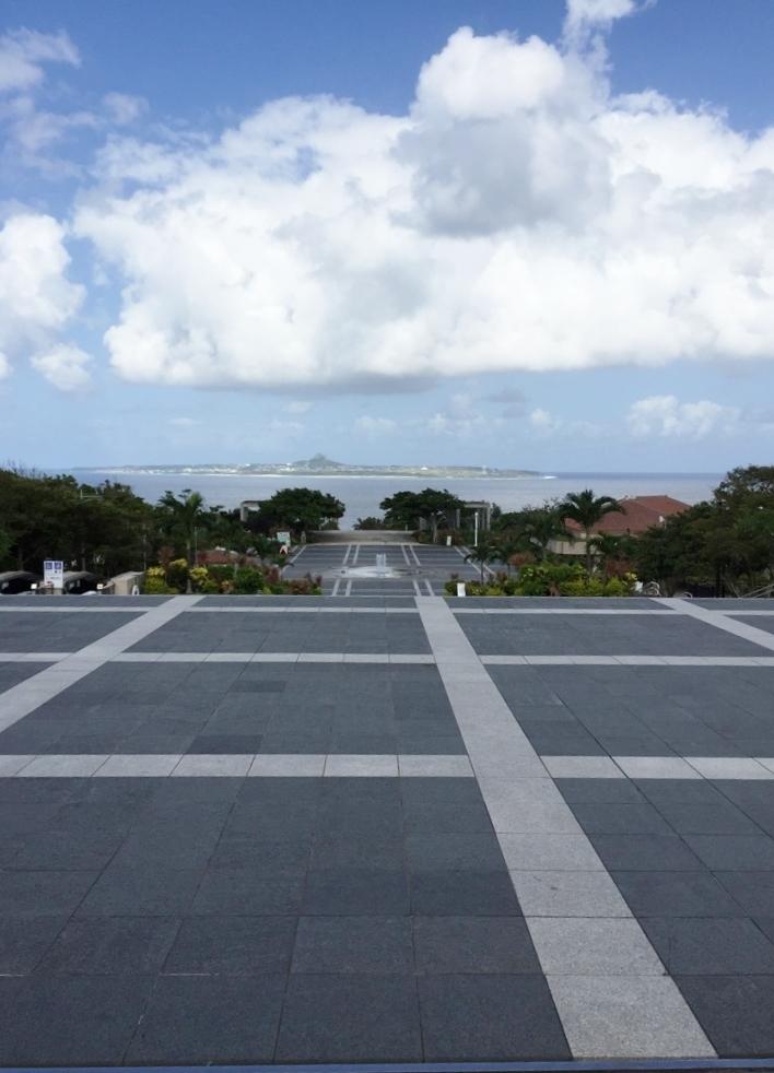 海洋博公園 噴水広場