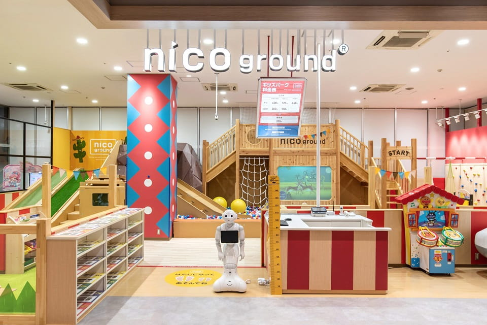 カラフルパーク & nico ground 千種店
