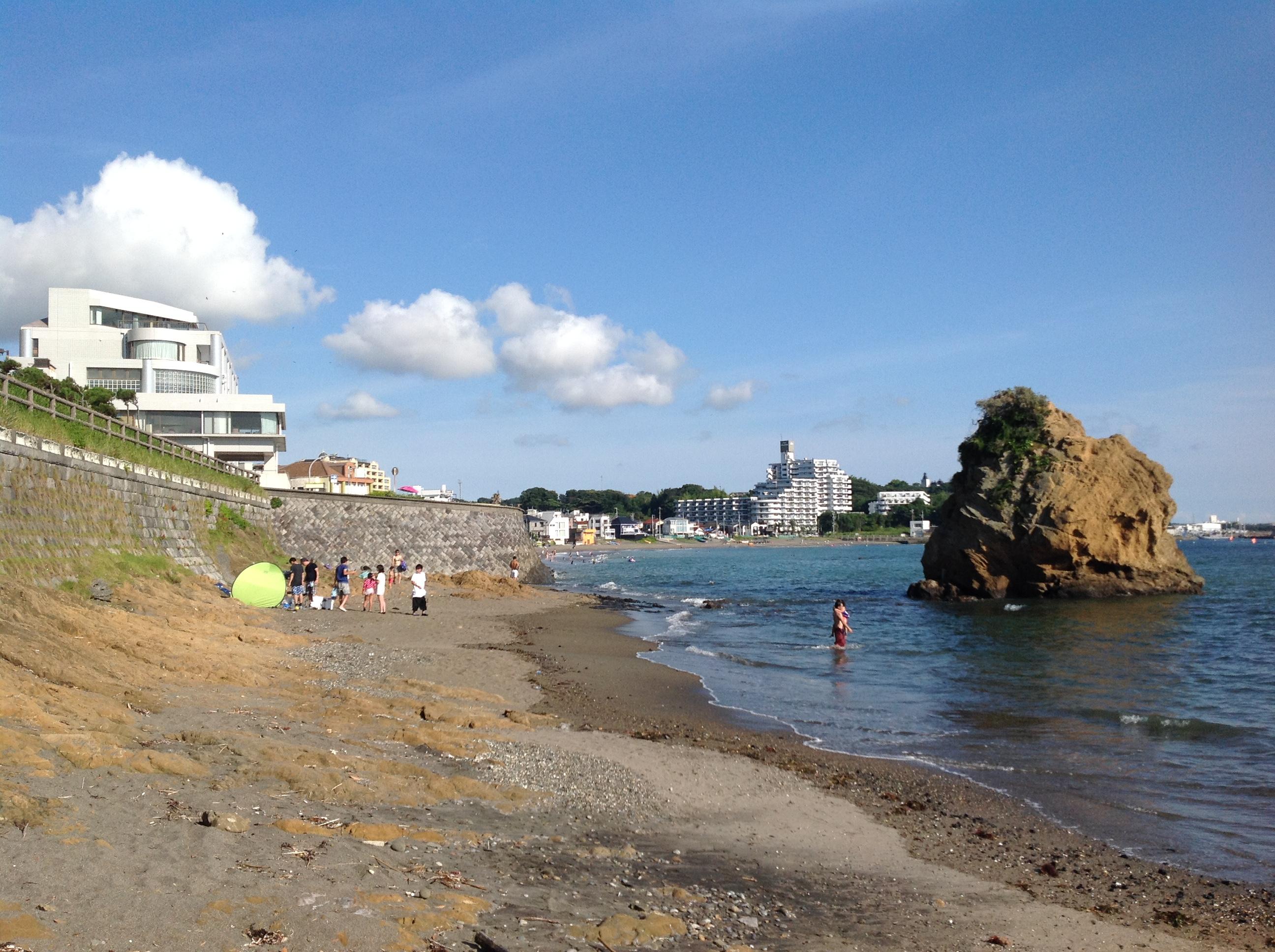 秋谷海水浴場