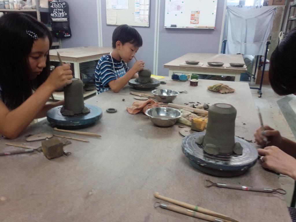 陶芸教室 楽陶会