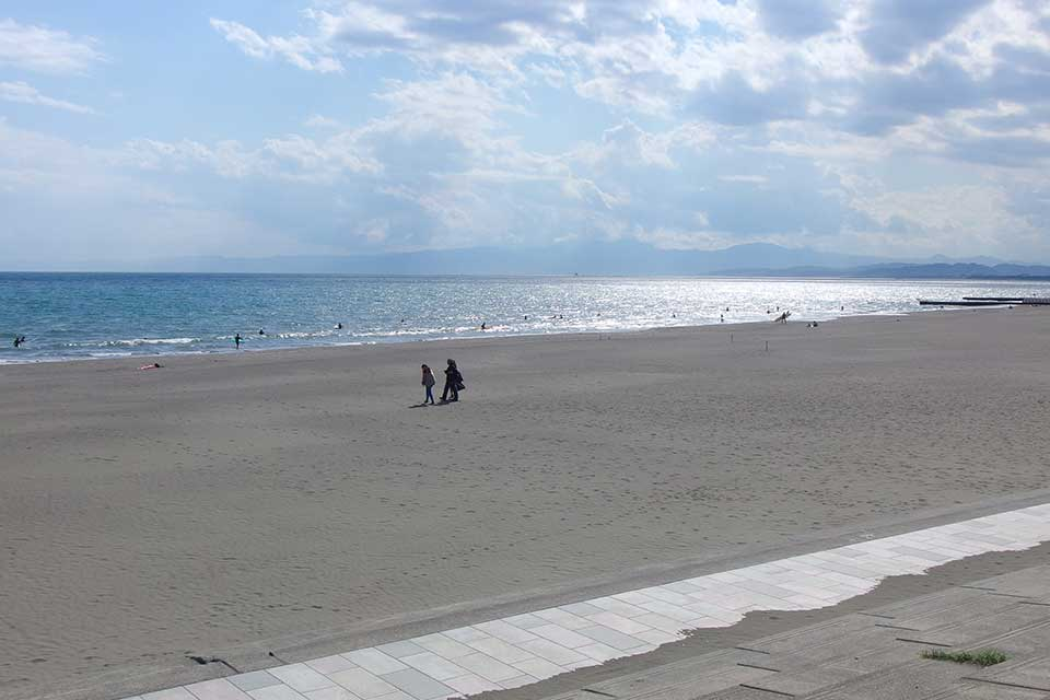 片瀬海岸西浜・鵠沼海岸 海水浴場