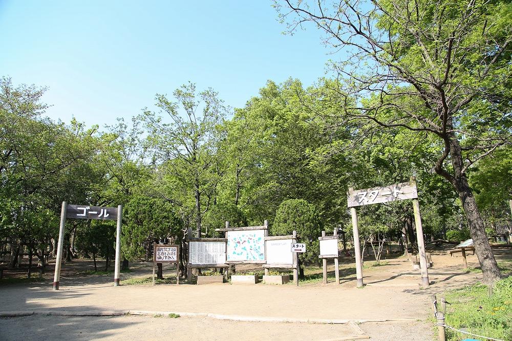平和の森公園フィールドアスレチック