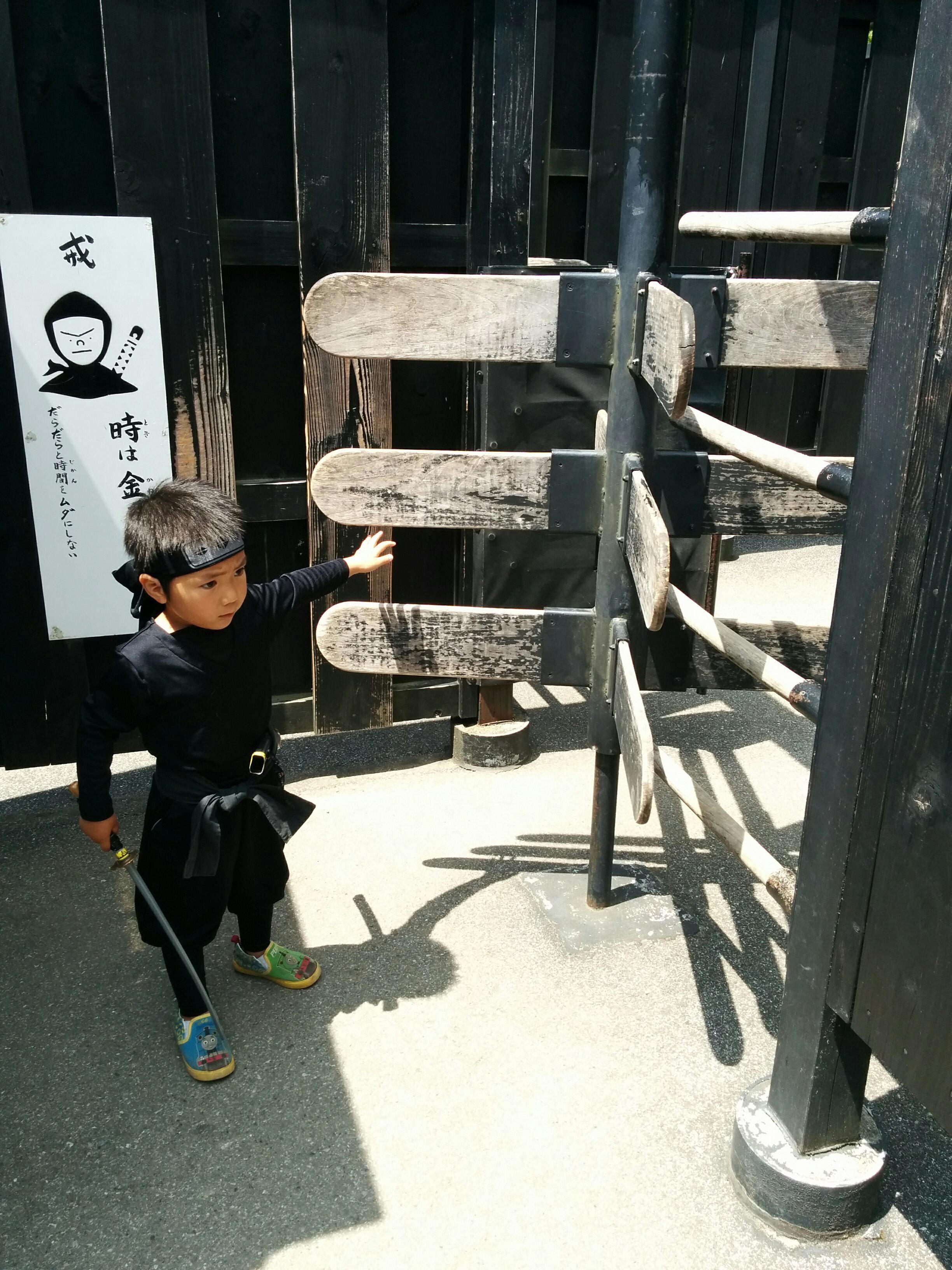 子供でも楽しめる!息子が大好きな江戸村!