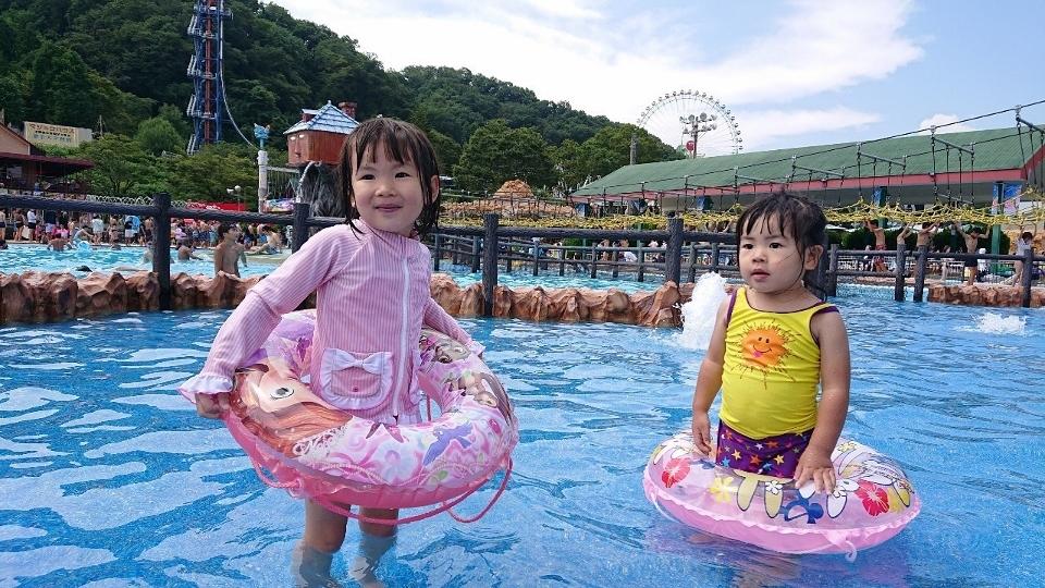 プールと遊園地で大満足!