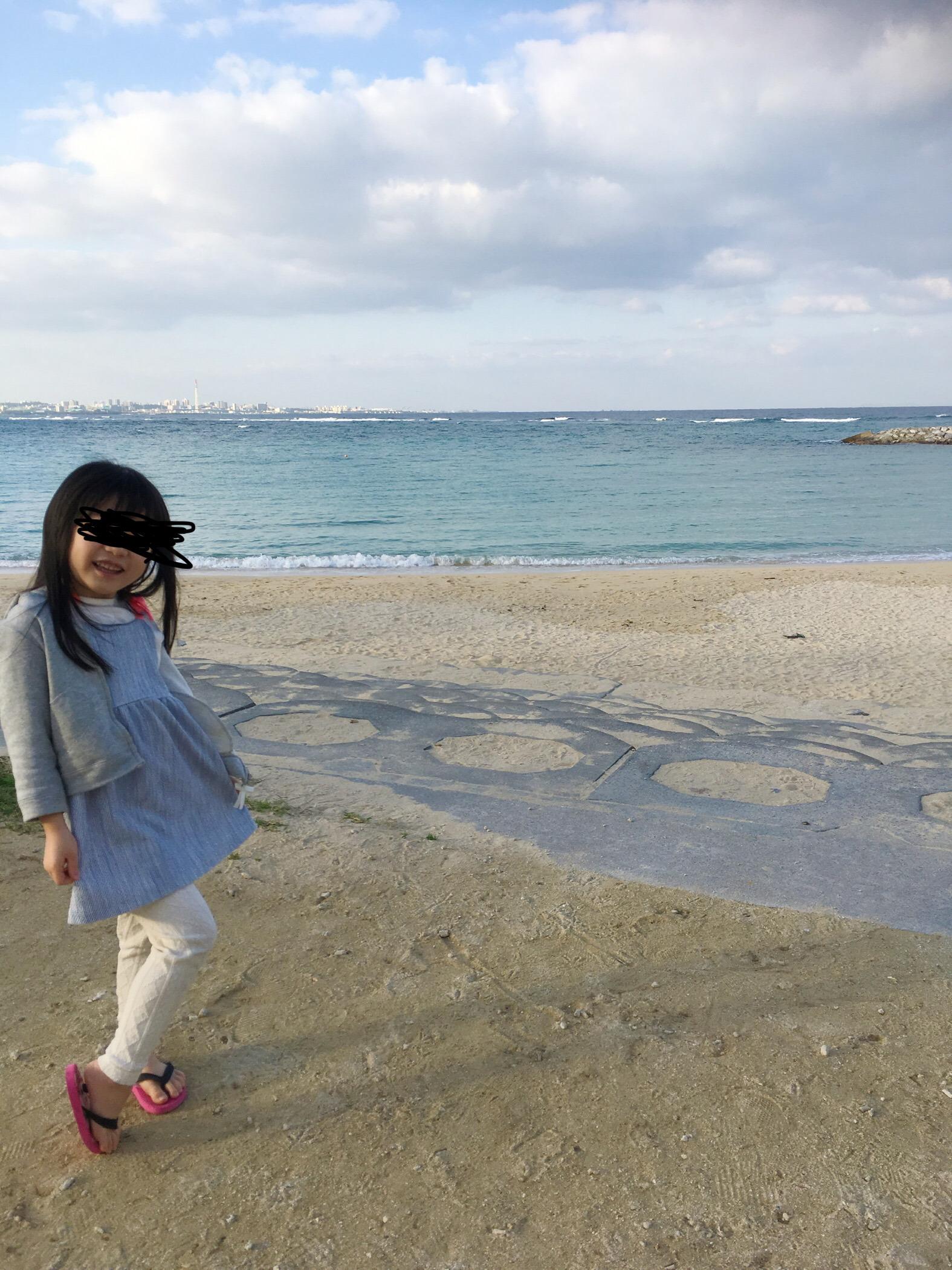 恩納村の海